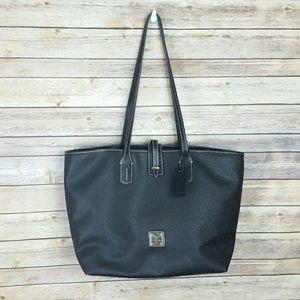 Dooney & Bourke Black Large Tote/Shopper